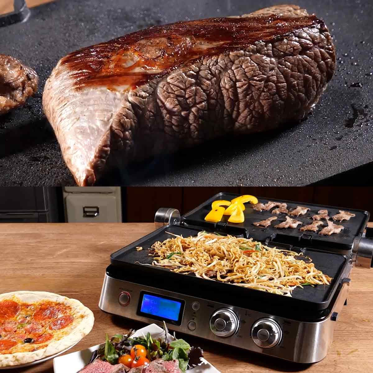 肉がジュ〜ッとおいしく焼ける! 3Way卓上グリル「マルチグリルBBQ」を動画でチェック