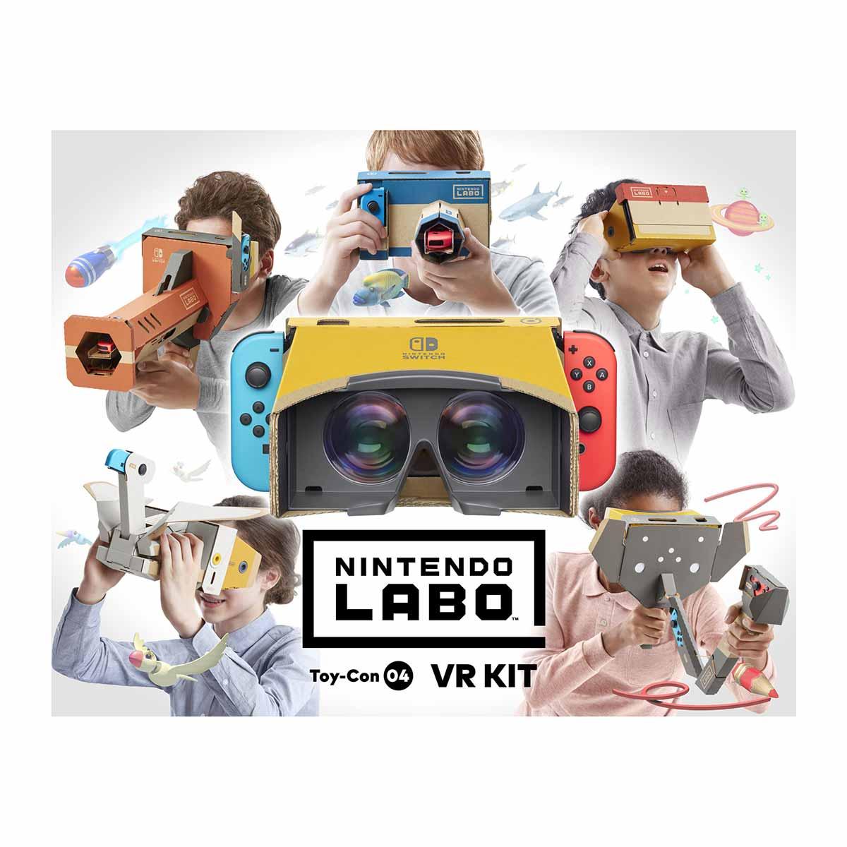 【今週発売の注目製品】任天堂から、SwitchでVRが楽しめる「Nintendo Labo: VR Kit」が登場