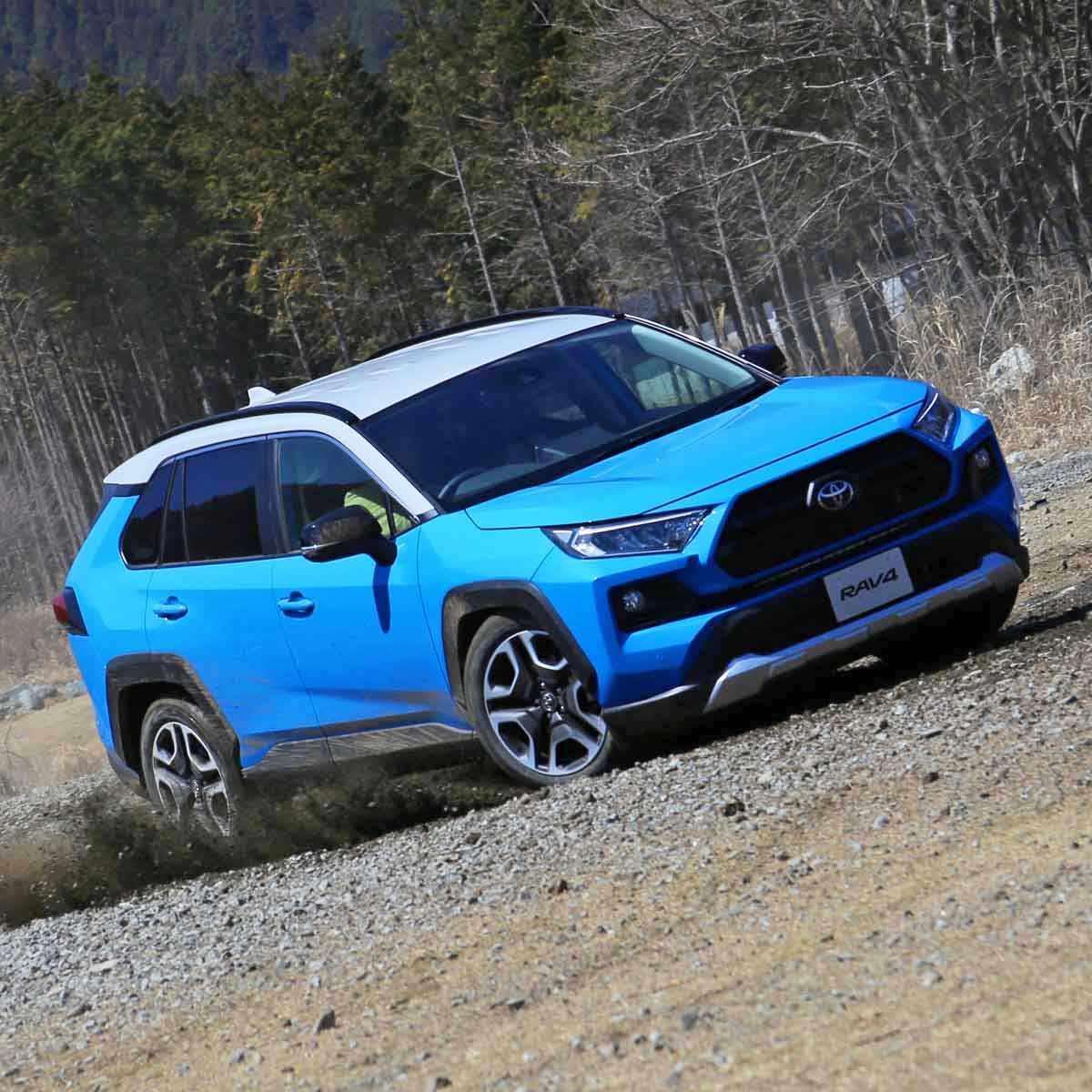 試乗でわかったトヨタ 新型「RAV4」買うならハイブリッド?ガソリン?