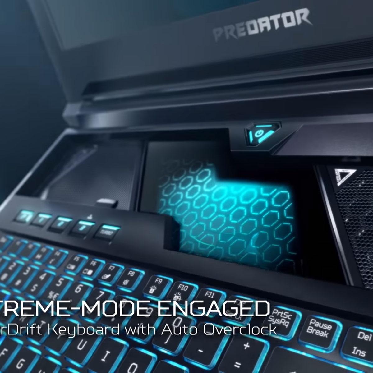 スライドする変形キーボード搭載ゲーミングノート「Predator Helios 700」が話題