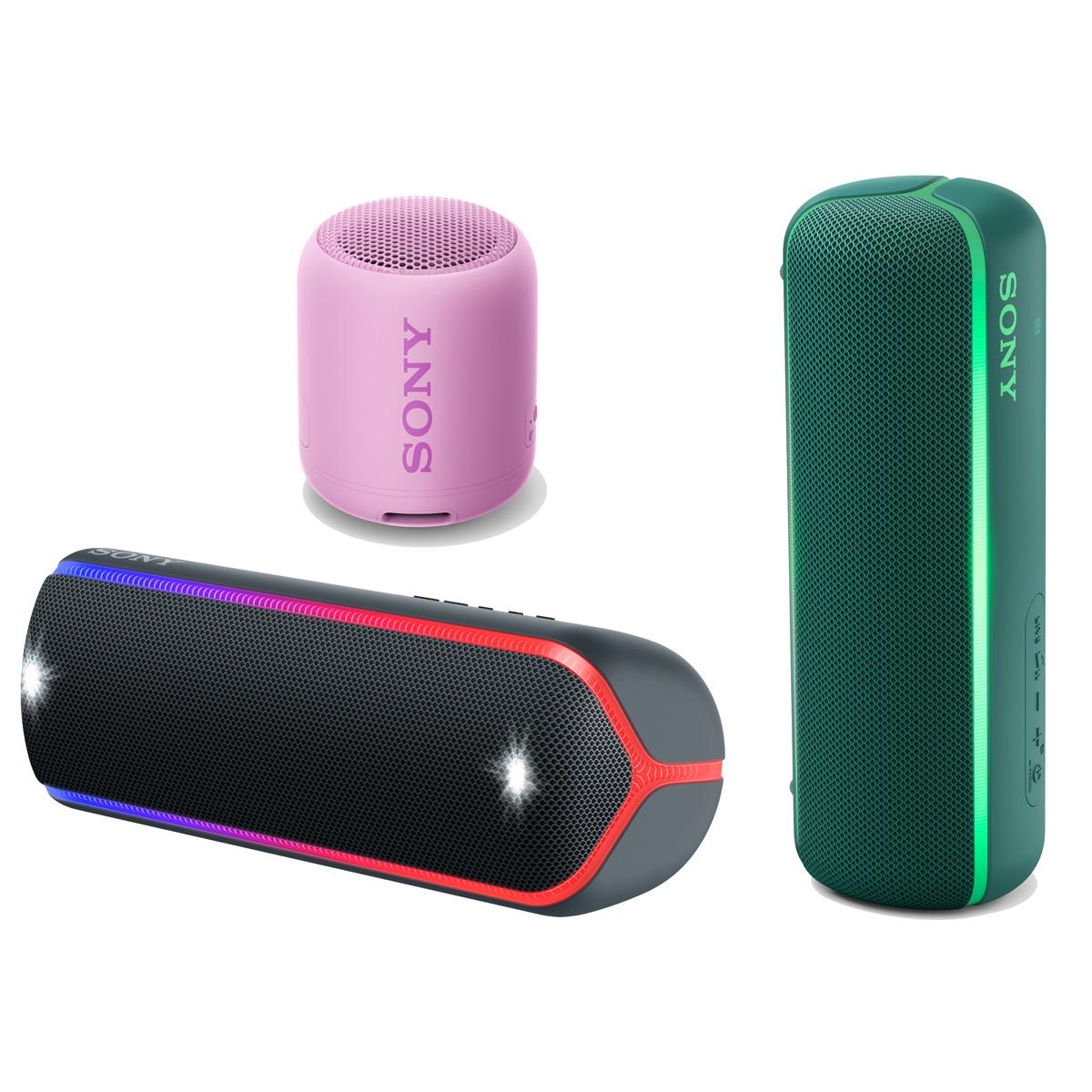 さらに高音質に!ソニーの重低音Bluetoothスピーカー「EXTRABASS」シリーズに新モデル登場