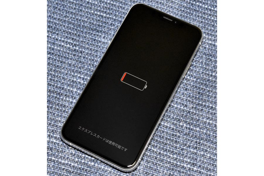 モバイル suica 電池 切れ