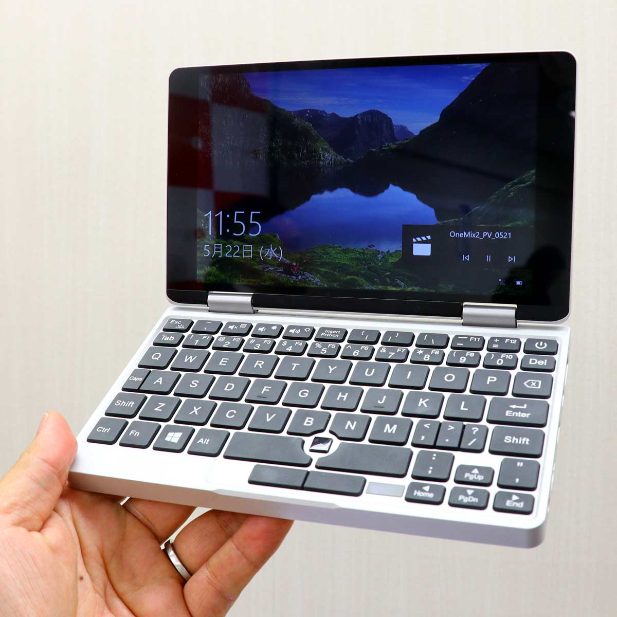 2in1のUMPC「OneMix2S」国内正規版がいよいよ発売! ペン付属で価格は95,000円(税別)