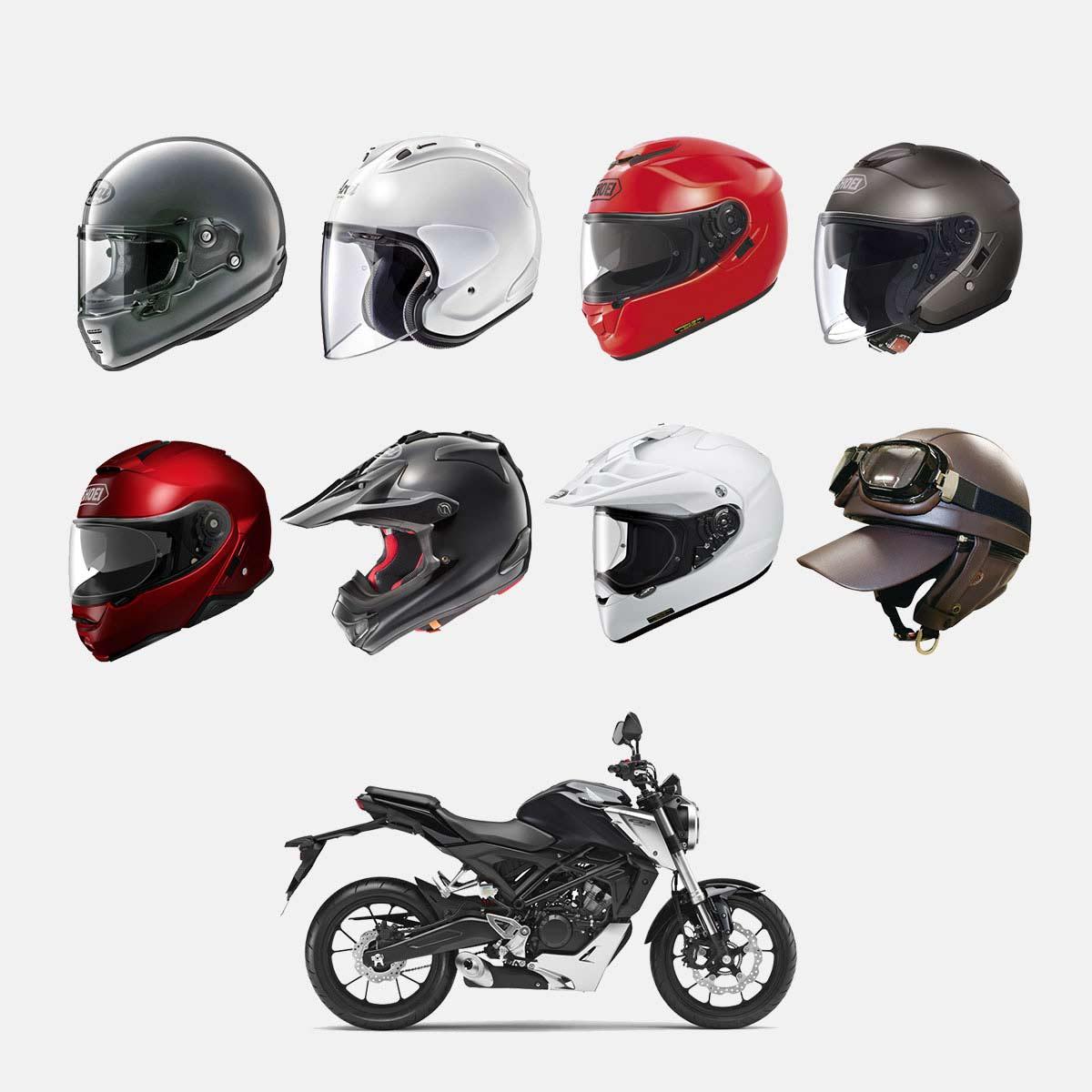 種類や選び方もわかる! 安全でかっこいいバイク用ヘルメットを見つけるための初心者向けガイド