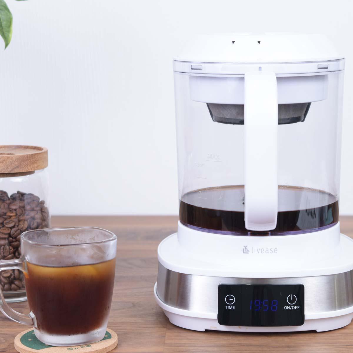 わずか20分!「電動水出しコーヒーメーカー」で淹れた水出しコーヒーが予想以上に本格派