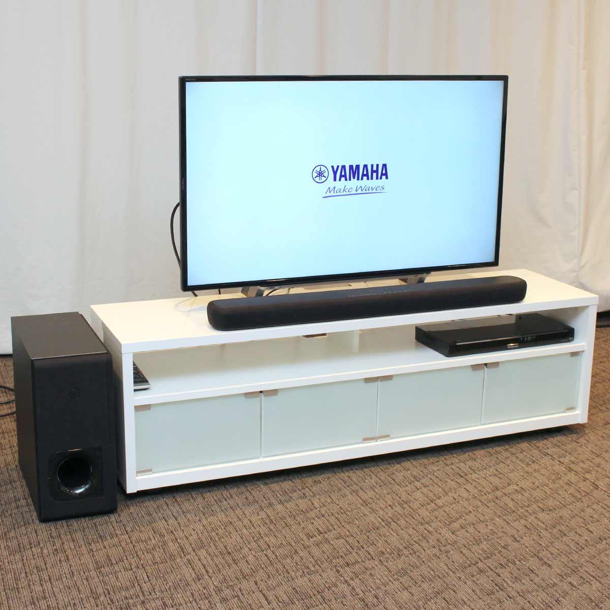 Alexaスピーカーにもなる迫力の2ユニット型サウンドバー「ヤマハ YAS-209」