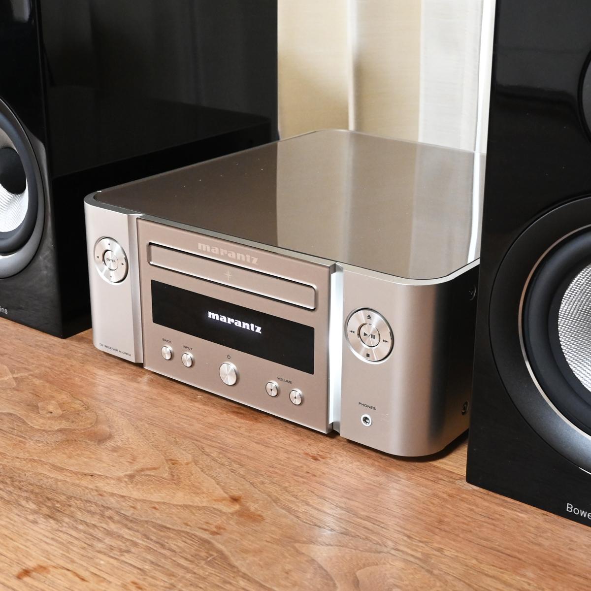 多機能だけじゃない!音質へのこだわりがすごいマランツのミニコンポ「M-CR612」