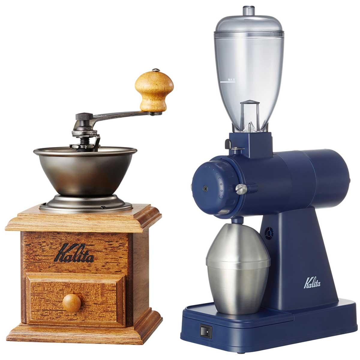 コーヒーミルは手動・電動どっちがいい? 選び方と人気モデルを紹介