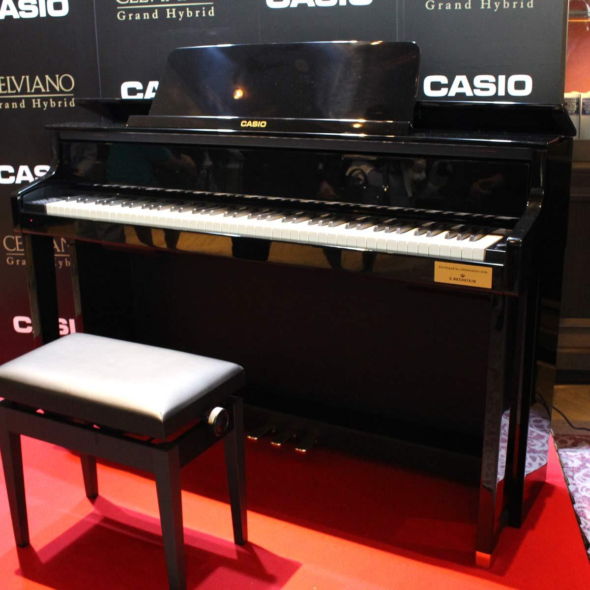 生ピ感スゴい!カシオのハイクオリティ電子ピアノ「CELVIANO Grand Hybrid」が次世代に進化