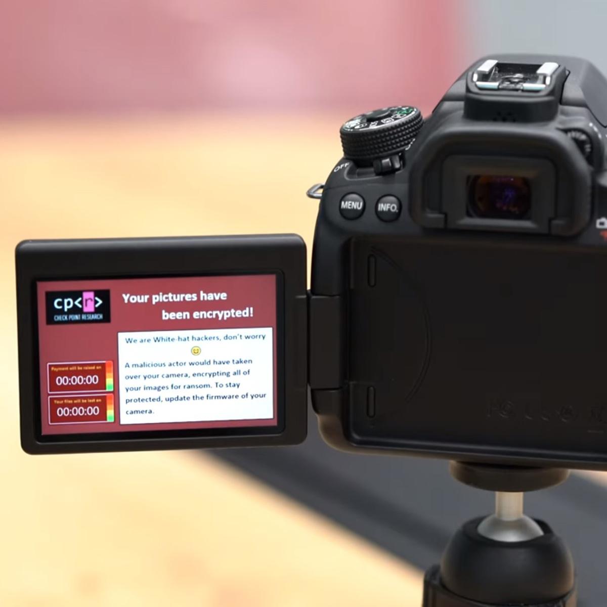 キヤノンのカメラ「EOS」シリーズにマルウェア攻撃の危険がある脆弱性