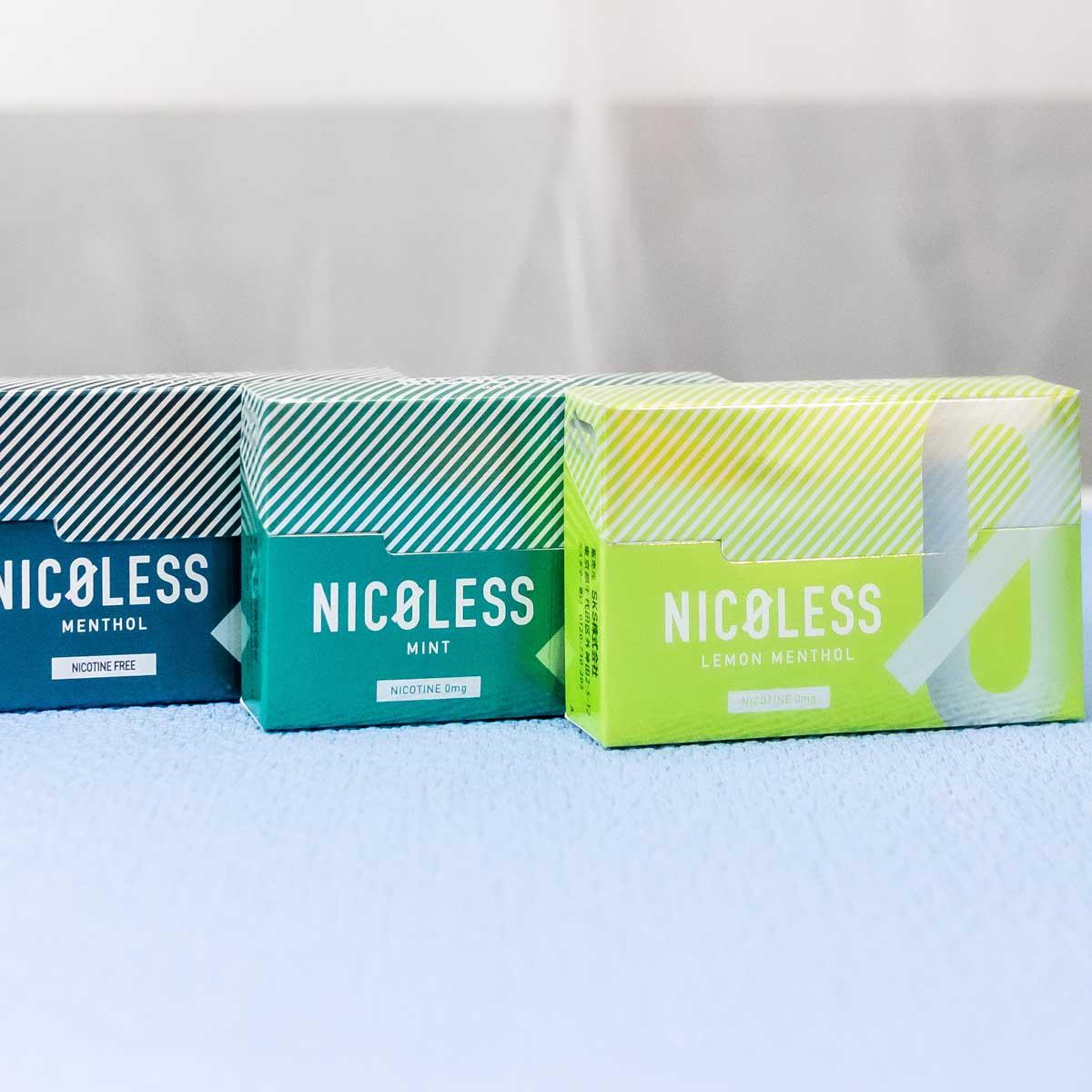 「アイコス」で使えるニコチンゼロの「NICOLESS(ニコレス)」で無理なく減煙!