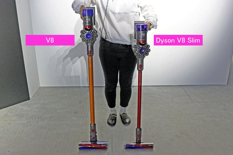 フラ フィ v8 スリム プラス ダイソン