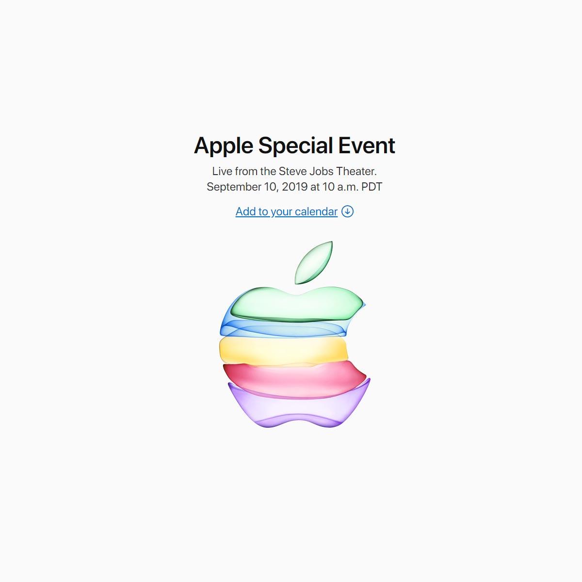 9月10日のアップルの発表会で新型iPhone発表か!?