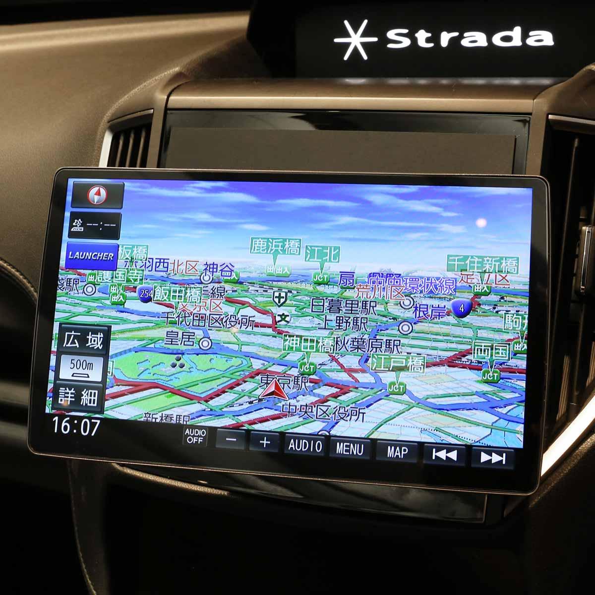 パナソニック 新型「ストラーダ」がついに10V型大画面に!その進化ぶりをチェック