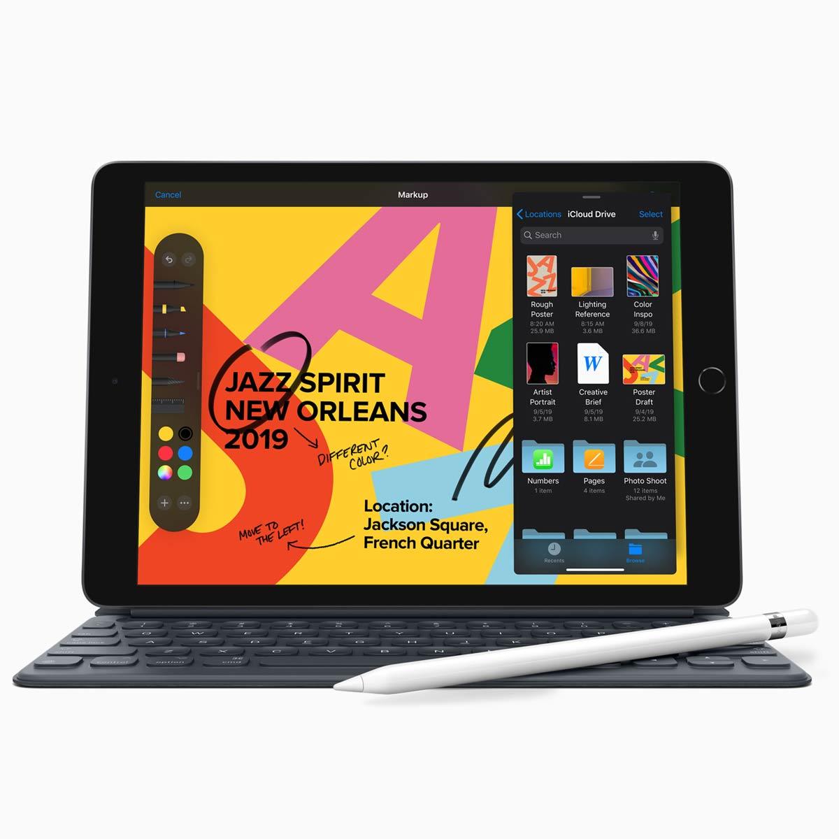 10.2インチの第7世代「iPad」登場! Smart Keyboard対応&iPadOSでPCライクな使い方に期待