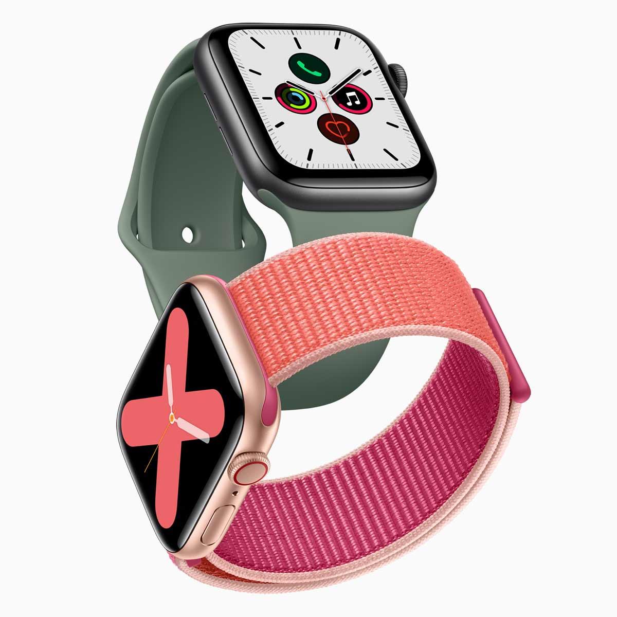 文字盤が常時表示される「Apple Watch Series 5」。新素材のチタニウムモデルが仲間入り