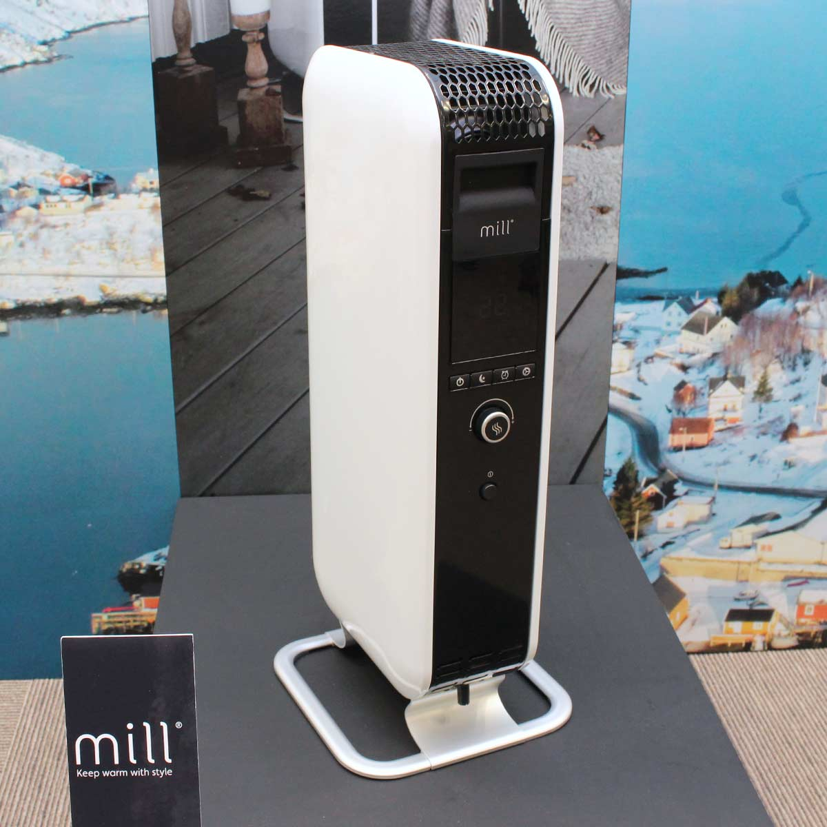 極寒の地・ノルウェー発の「millヒーター」を山善が販売開始! 日本オリジナル機能も