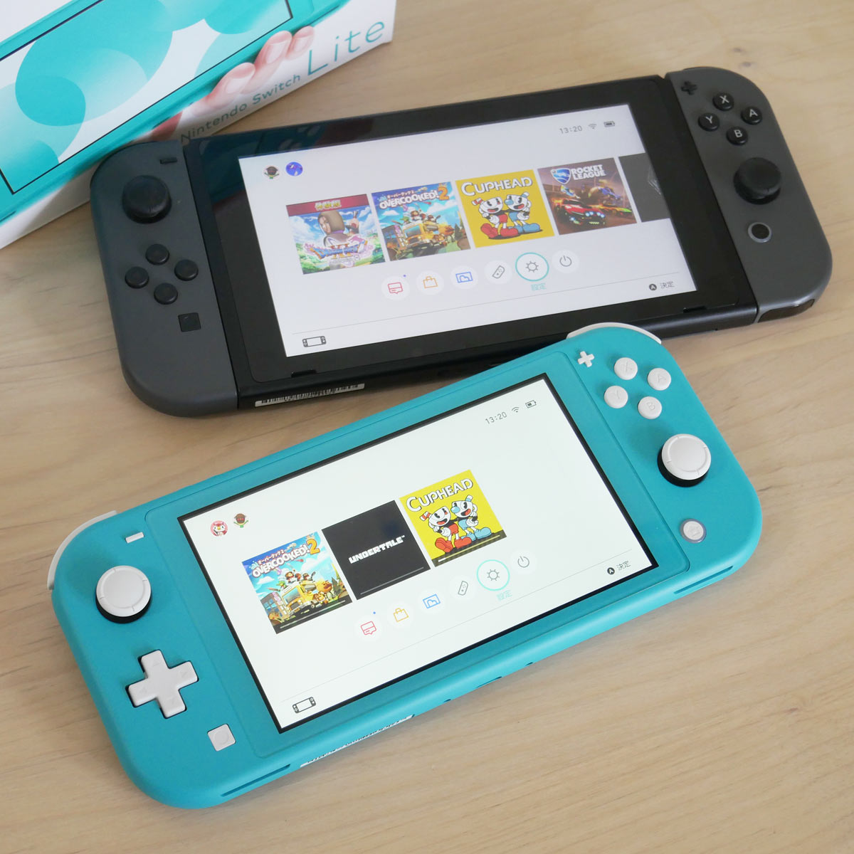 Nintendo SwitchとSwitch Lite、どっちを買うべき? 比較して違いを検証