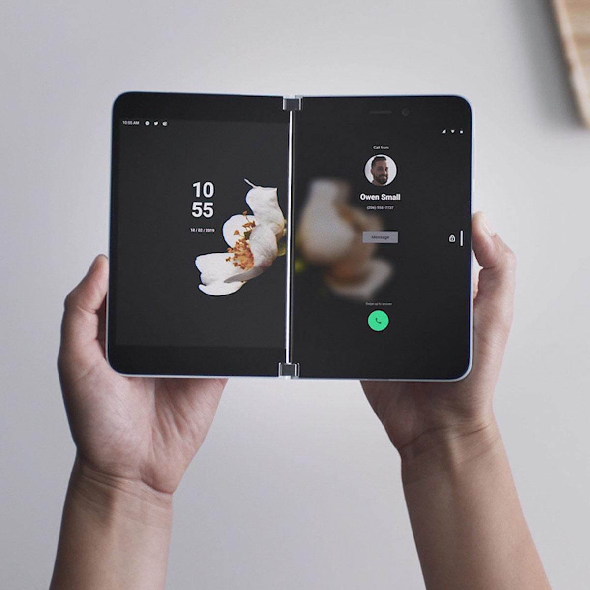 マイクロソフト、2画面Androidスマホ「Surface Duo」と2画面パソコン「Surface Neo」発表