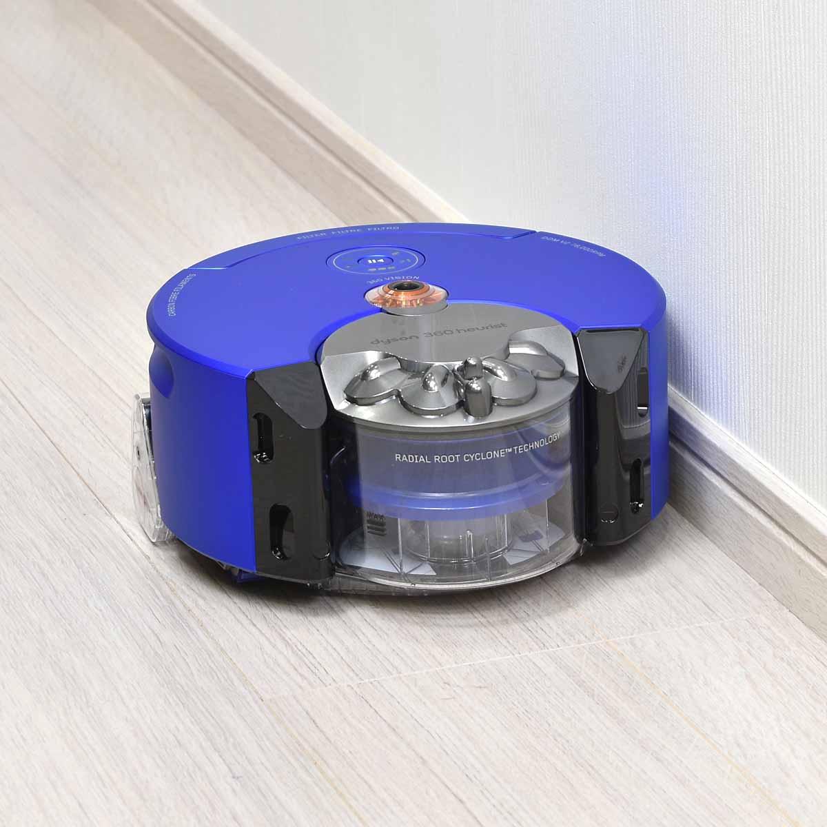 ダイソンのロボット掃除機「Dyson 360 Heurist」はココがスゴイ!