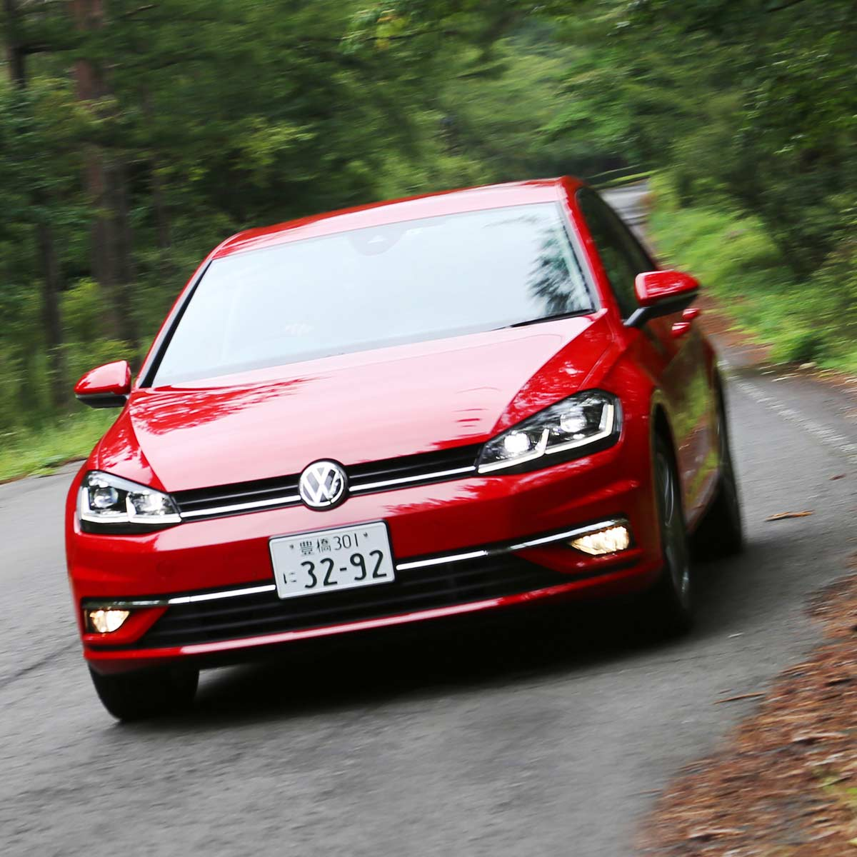 日本でディーゼル車の販売が好調なVW!新投入の「ゴルフTDI」に試乗