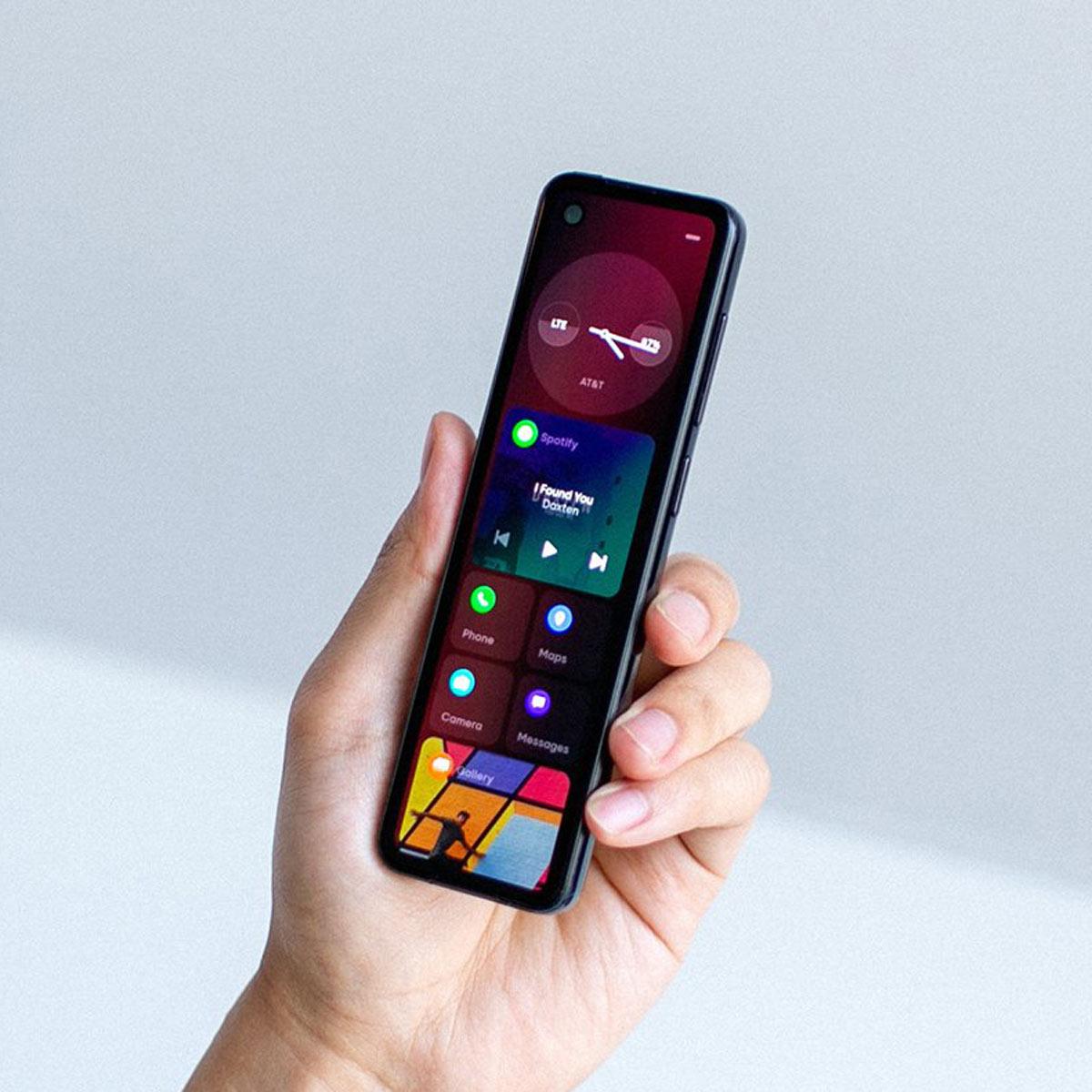 Androidの生み親が超縦長の新スマホ「ProjectGEM」を発表