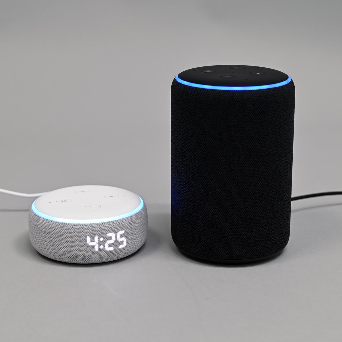 音が劇的によくなったAmazonの第3世代「Echo」と時計付き「Echo Dot With Clock」を速攻レビュー