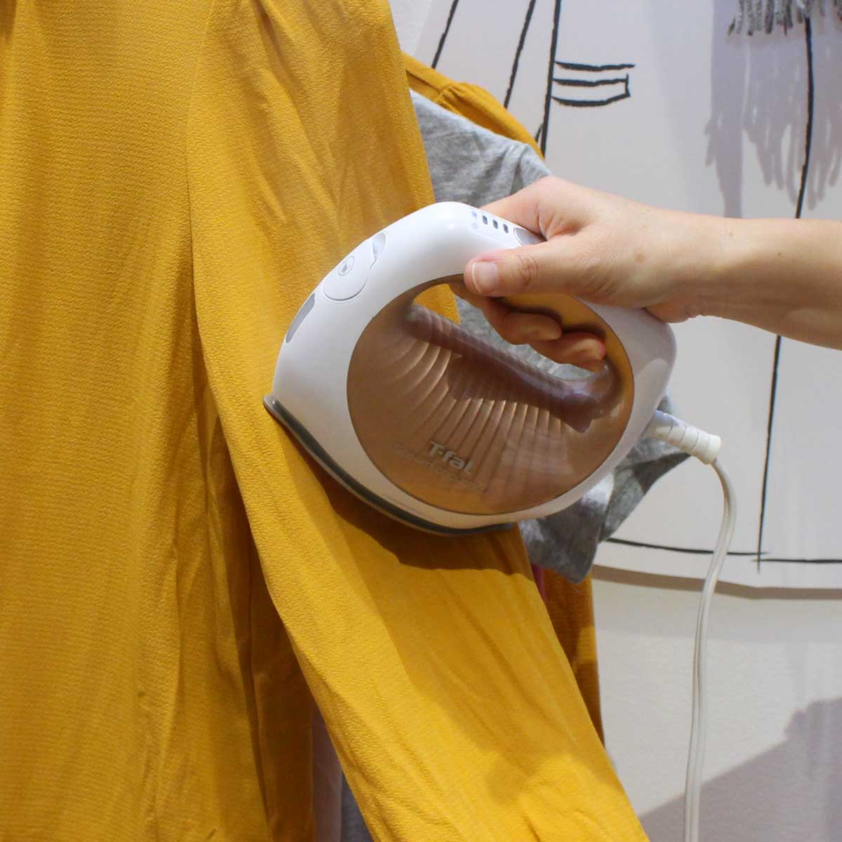 かわいくて実力派! ティファールの新しい衣類スチーマー「スチーム シュシュ」