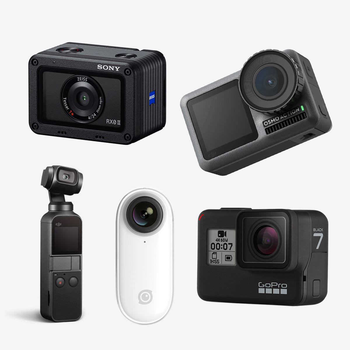 《2019年》アクションカメラの選び方ガイド。人気&コスパモデルを比較