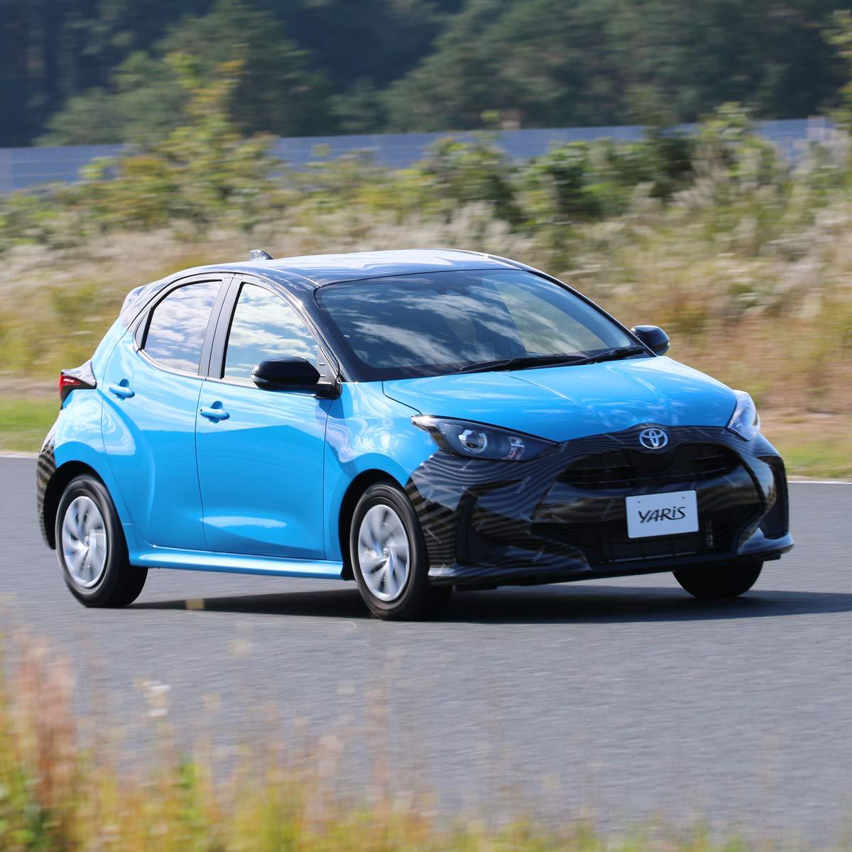 2020年2月発売のトヨタ 新型「ヤリス」をサーキットで試乗!