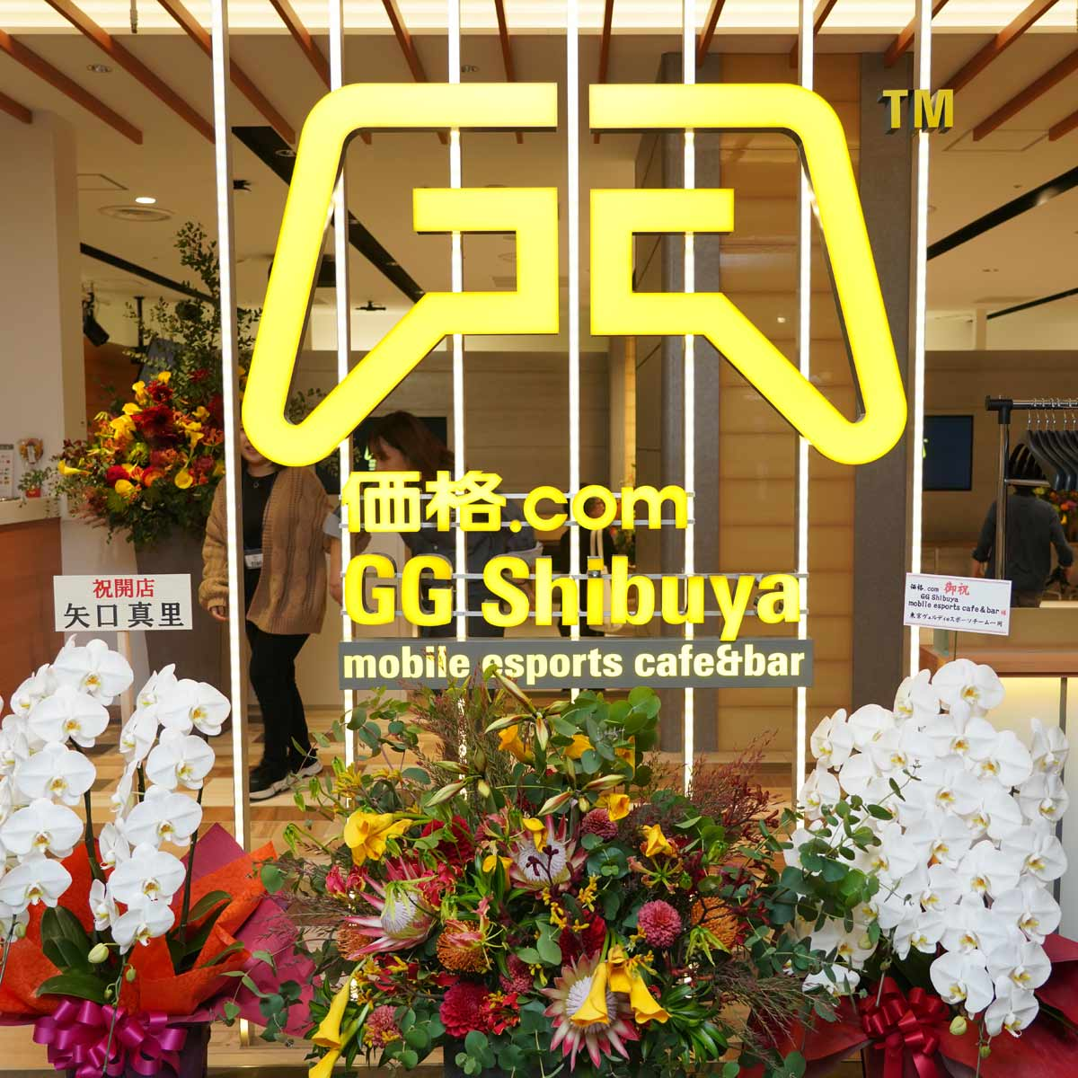 eスポーツの大型観覧カフェ「価格.com GG Shibuya Mobile esports cafe&bar」が渋谷PARCOにオープン