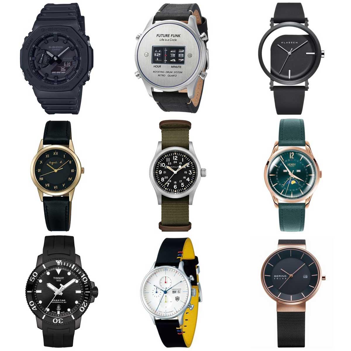 時計店店員がイチオシする「腕時計」はこの9本! 5万円以下の人気モデルが勢ぞろい