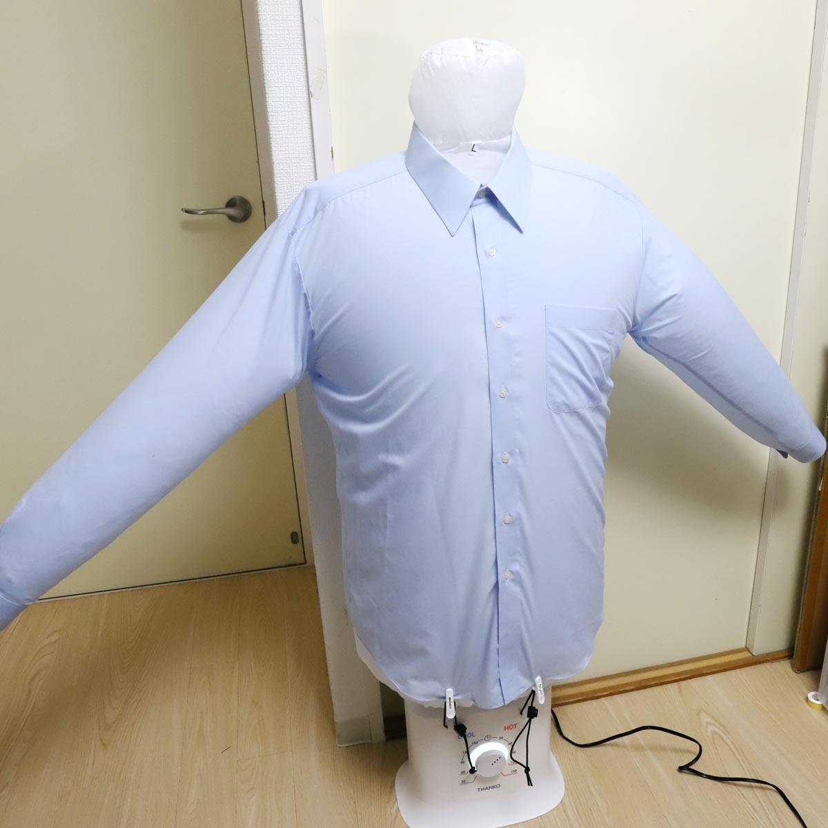 アイロンなしで衣類のシワをピシッと解消! 「アイロンいら〜ず2」実力チェック