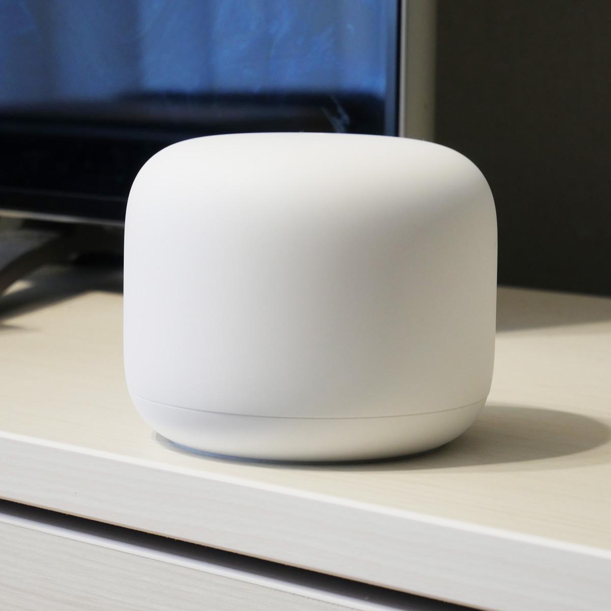 無線LANルーター「Google Nest WiFi」レビュー。メッシュネットワークで家のどこでも高速通信