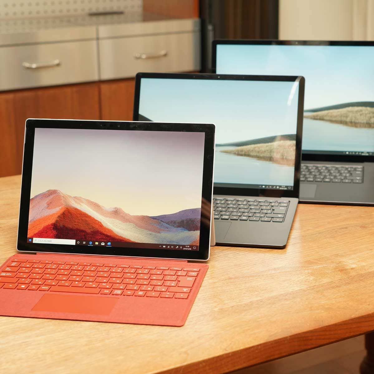 最新の「Surface」3台を動画で一気レビュー! 性能は? 携帯性は? 使い勝手は?
