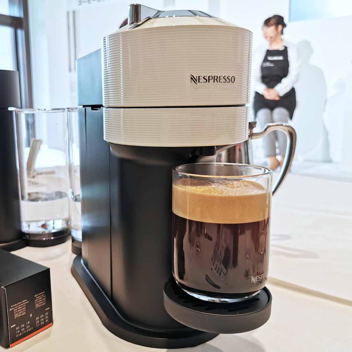飲んできた! ふっかふかのクレマがおいしいネスプレッソのコーヒーマシン「ヴァーチュオ」が日本上陸