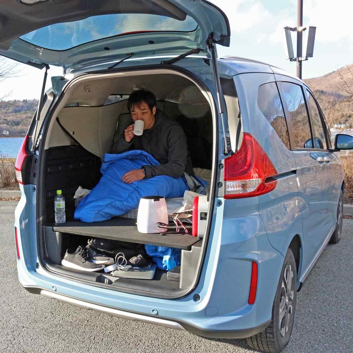 【準備編】ドラマ「絶メシロード」と同じようにホンダ「フリード+」で車中泊する旅に挑戦!