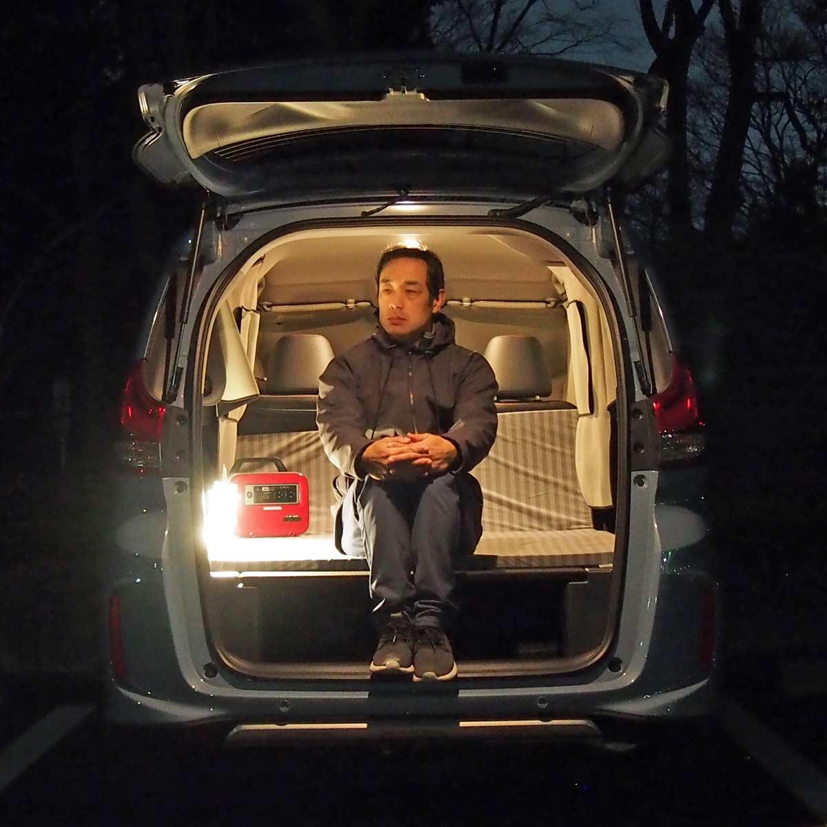 【実践編】ドラマ「絶メシロード」と同じようにホンダ「フリード+」で車中泊する旅に挑戦!