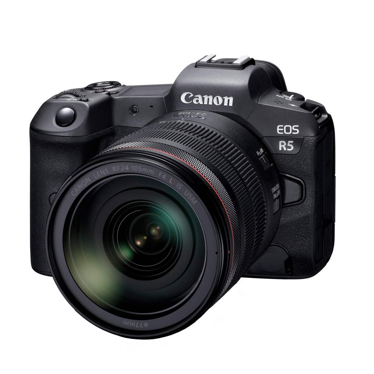 キヤノンが「EOS R5」を開発発表! 8K動画、ボディ内手ぶれ補正を搭載