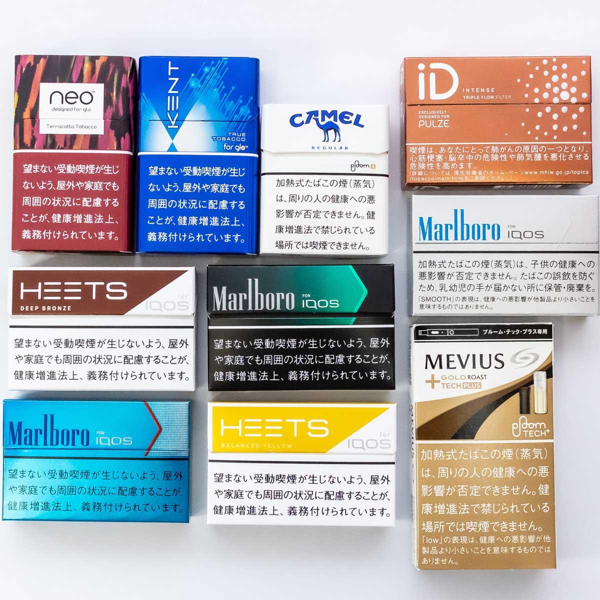 加熱式タバコ×専用スティックの吸い応え・満足度が高い組み合わせTOP10