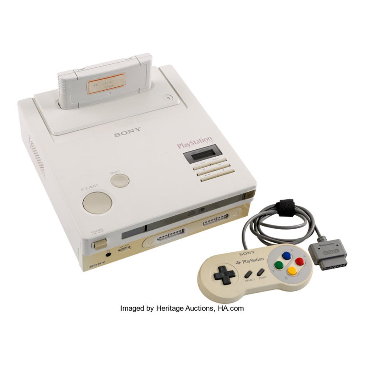 幻のゲーム機「Nintendo PlayStation」がオークションに出品