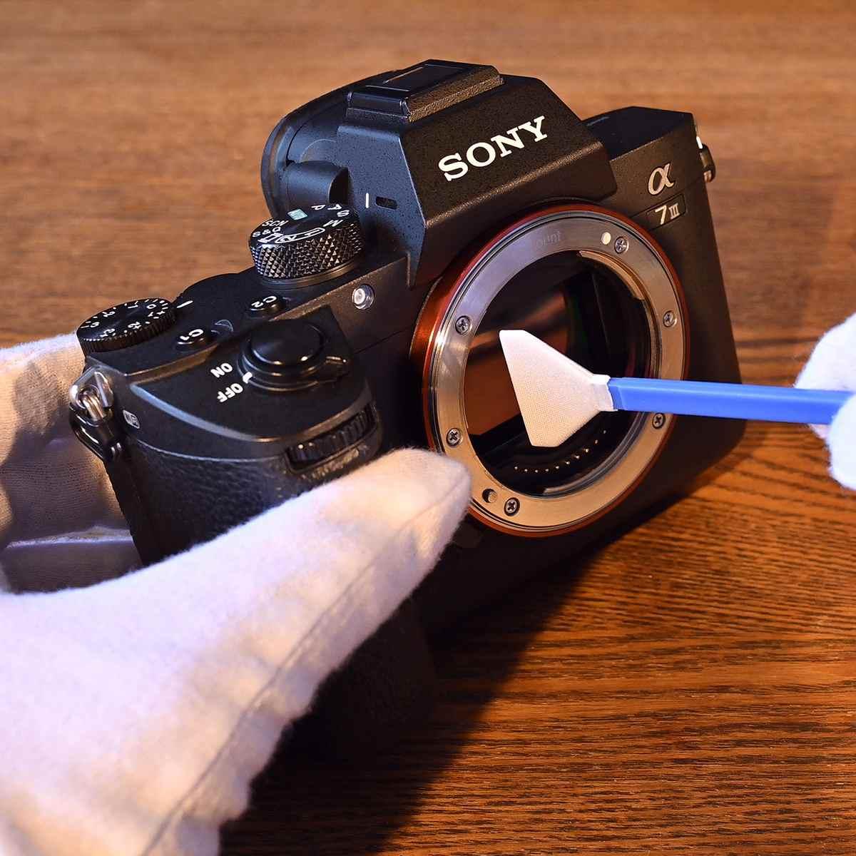 一眼ユーザー必見! イメージセンサーの汚れを簡単・格安に除去する方法