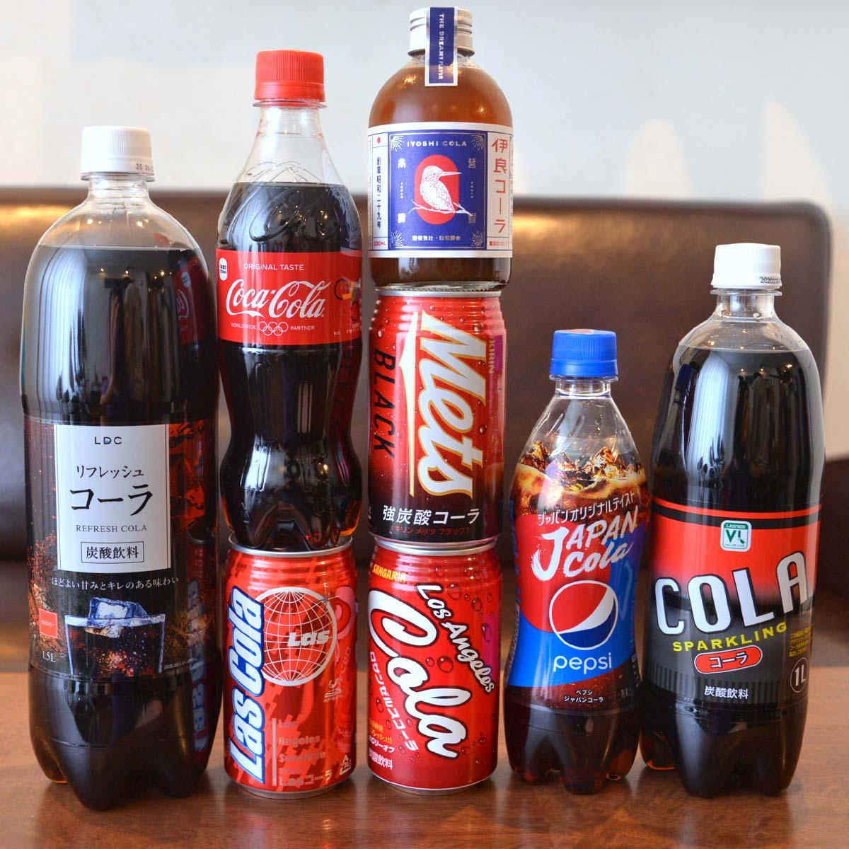 いま「コーラ」界が熱い! 超定番からレアモノまで、8種類を飲み比べ