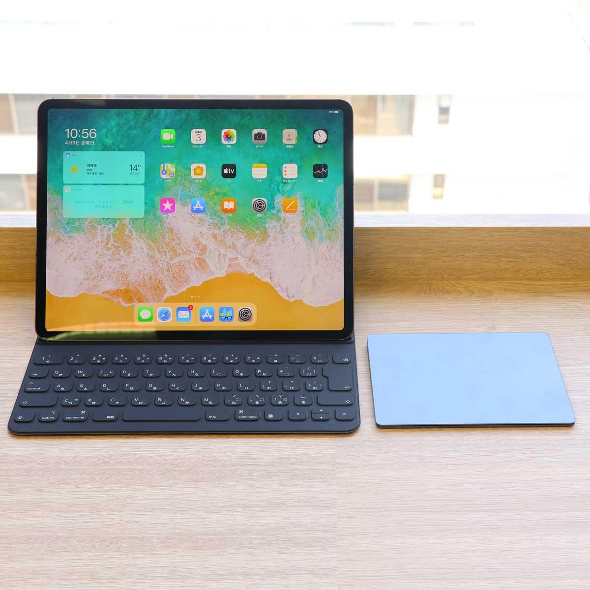 「iPad Pro」2020年モデルをレビュー。トラックパッド対応で操作性はMac以上?