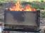 二次燃焼のキレイな炎に魅了される焚き火台「めちゃもえファイヤー」