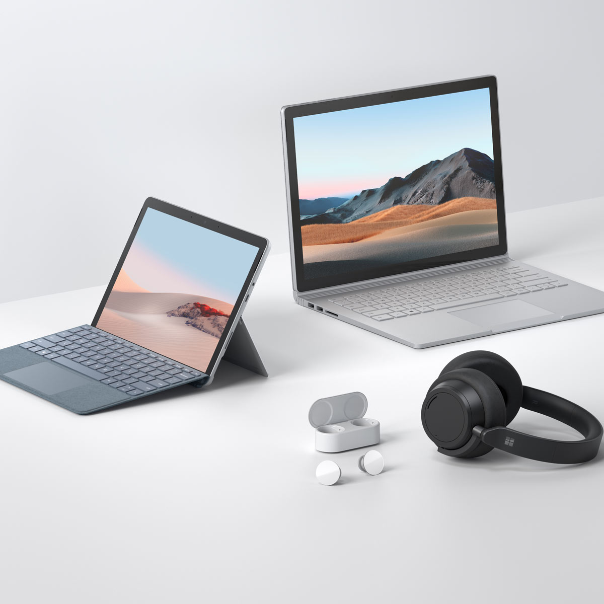 「Surface Go 2」「Surface Book 3」は在宅勤務やテレワークで働く人のよき相棒