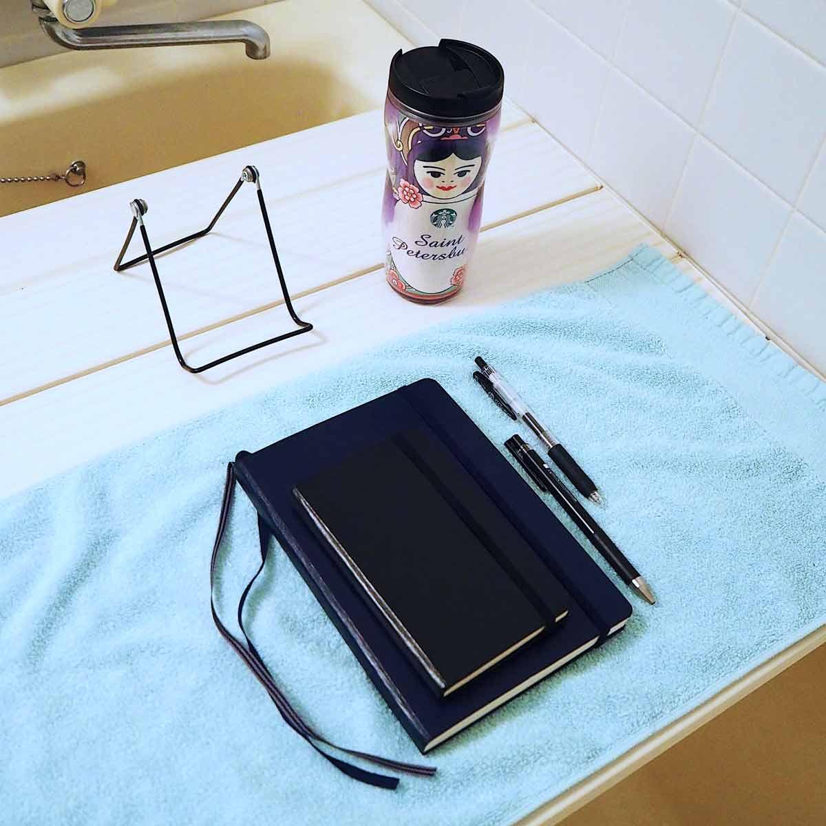在宅勤務は「風呂ワーク」がはかどる! 防水&撥水の便利な文房具を厳選