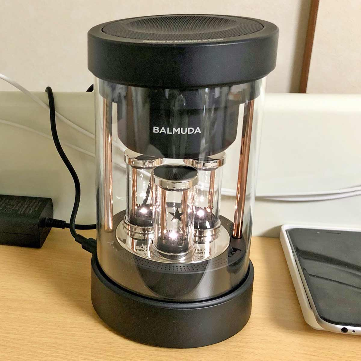 """新しい360度サウンド!「BALMUDA The Speaker」は""""らしさ全開""""のスピーカー"""