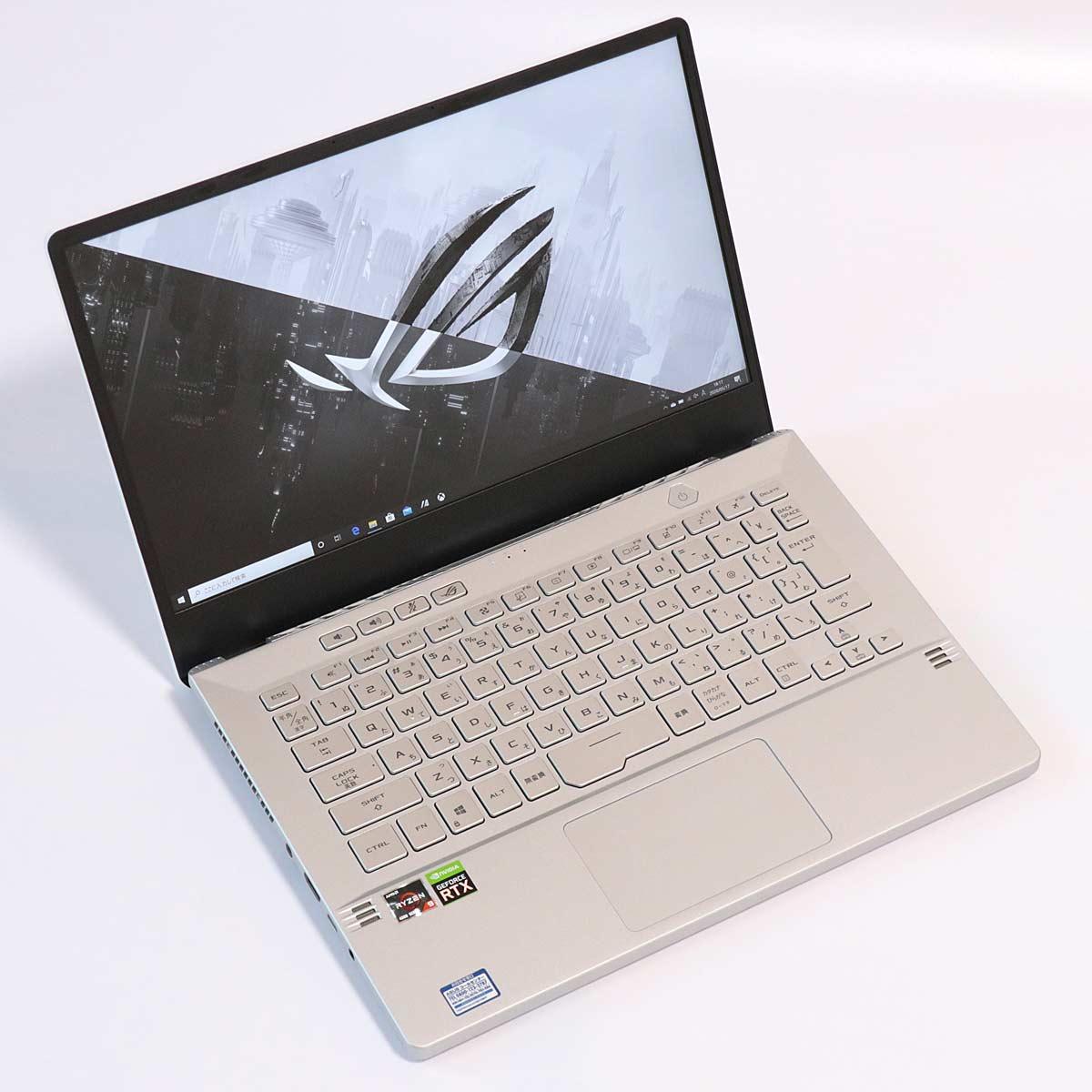 「Ryzen 9 4900HS」搭載のゲーミングPC「ROG ZEPHYRUS G14」レビュー