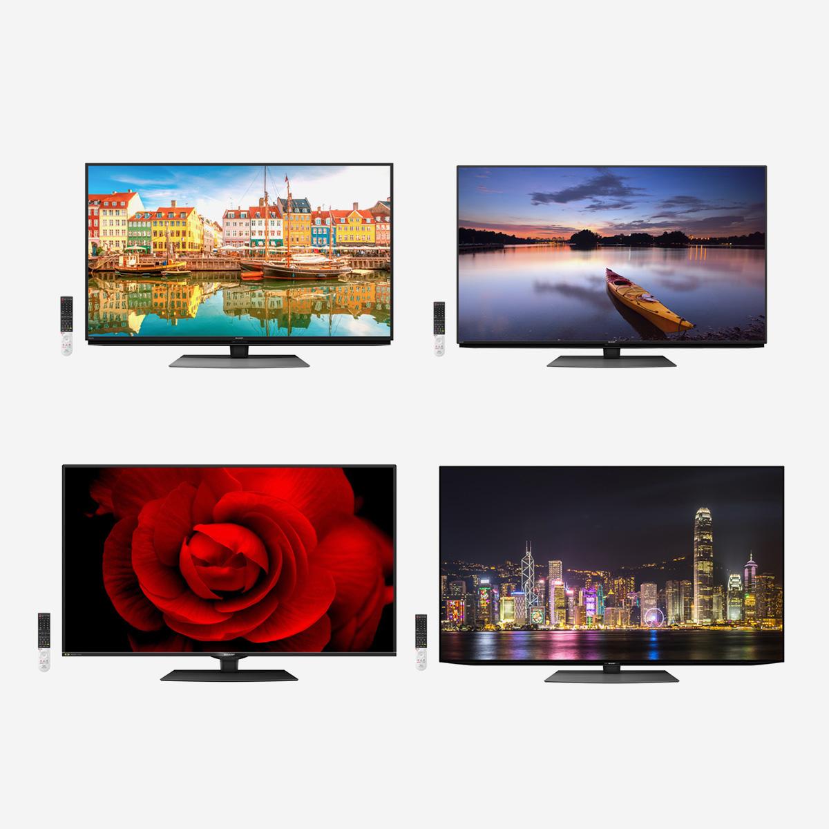 AQUOS 8K/4K液晶、4K有機ELすべてが揃うシャープのテレビでおうち時間をグレードアップ[PR]